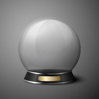 Bola de cristal de vetor para adivinhos.