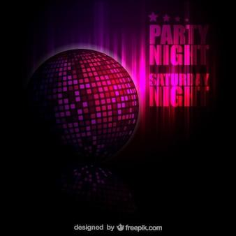 Bola de discoteca de fundo livre