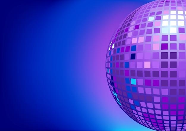 Bola de discoteca do espelho