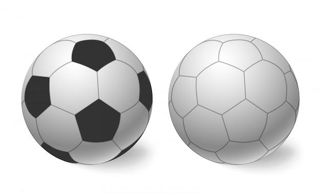 Bola de futebol. ícone de bola de futebol.