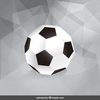 Bola de futebol poligonal