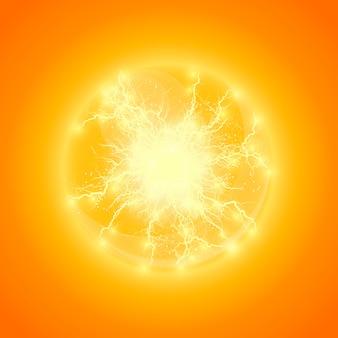 Bola de iluminação