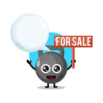 Bola de kate à venda mascote de personagem fofa