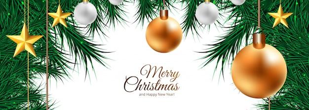 Bola decorativa de natal de férias