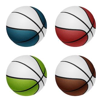 Bolas de basquete combinadas