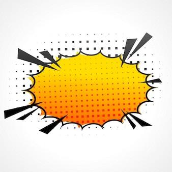 Bolha ilustração velocidade comic