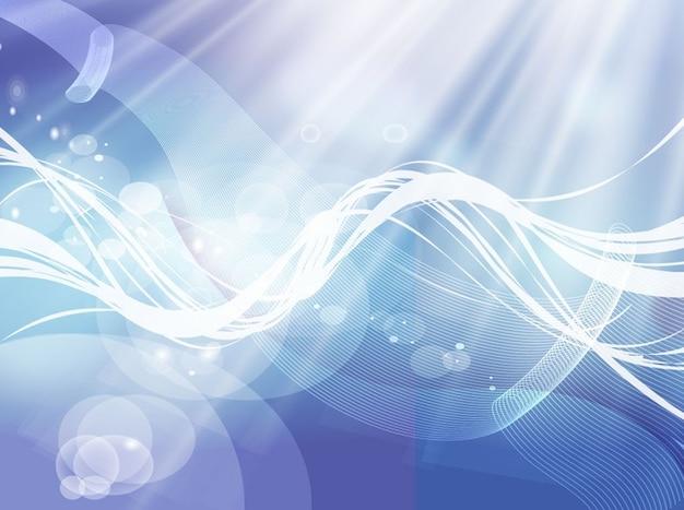 Bolhas abstratas e energia redemoinhos vetor
