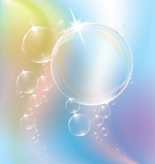 Bolhas de água