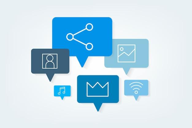 Bolhas do discurso de mídias sociais