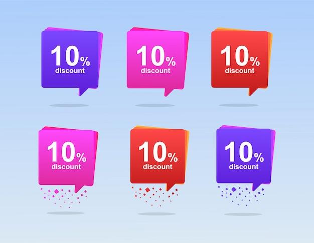 Bolhas do discurso para vendas