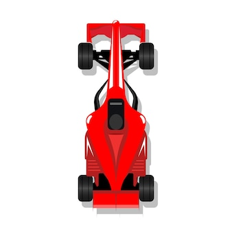 Bolid de corrida de carro esporte f1