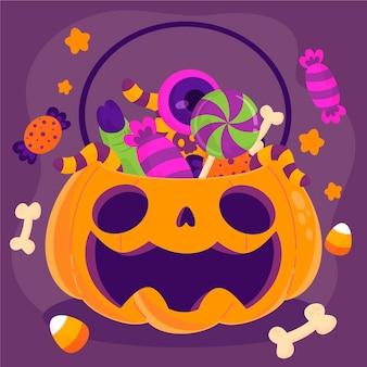 Bolsa festival de halloween