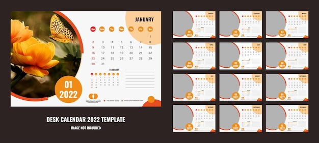Bom calendário de mesa ou planejador 2022