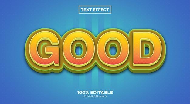 Bom efeito de texto 3d