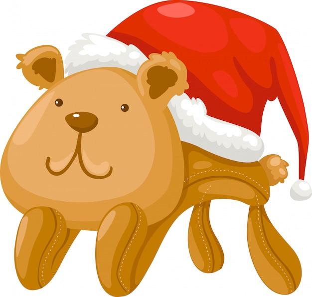 Boneca urso vector ilustração