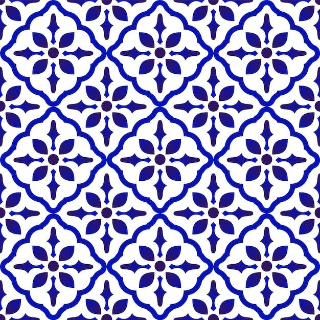 Bonito padrão de cerâmica