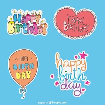 Bons desejos para aniversários