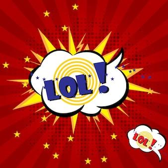 Boom explosão comic speech bubble