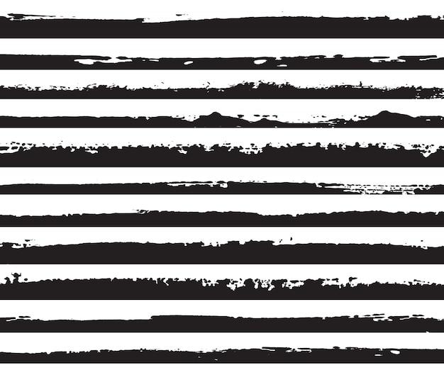 Bordas de grunge preto
