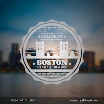 Boston badge