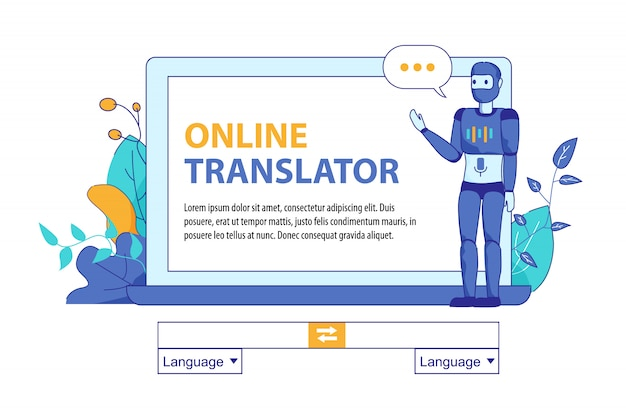 Bot inteligência artificial para tradução online