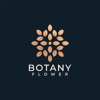 Botânica gradiente moda spa ioga criativo saúde feminina