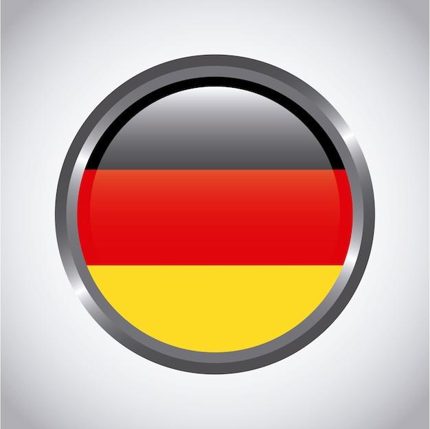 Botão alemanha