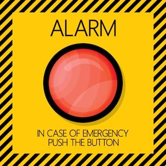 Botão de alarme