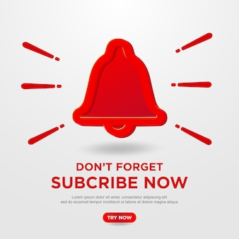 Botão de assinatura no plano de fundo do youtube