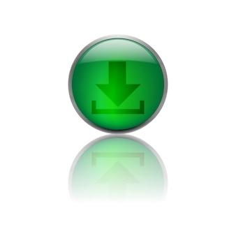 Botão de download isolado