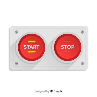 Botão de início