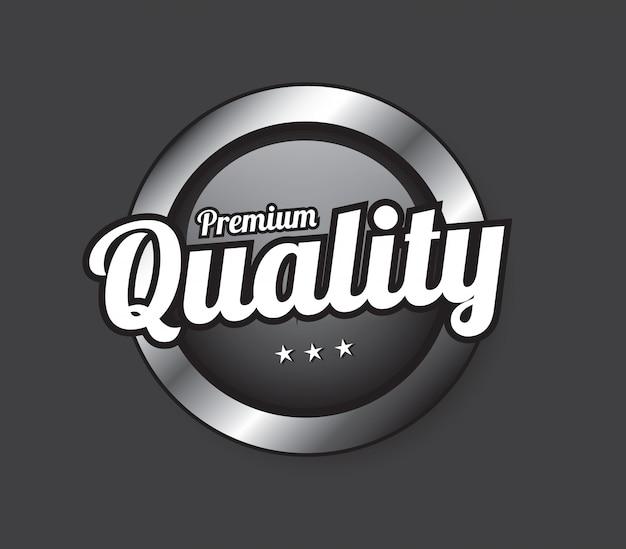 Botão de qualidade