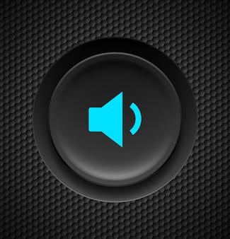 Botão de som.
