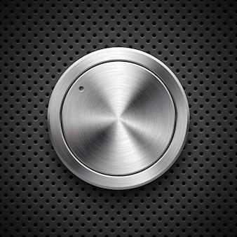 Botão de volume de tecnologia abstrata
