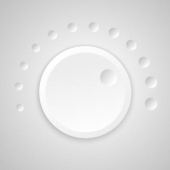 Botão de volume Vetor grátis