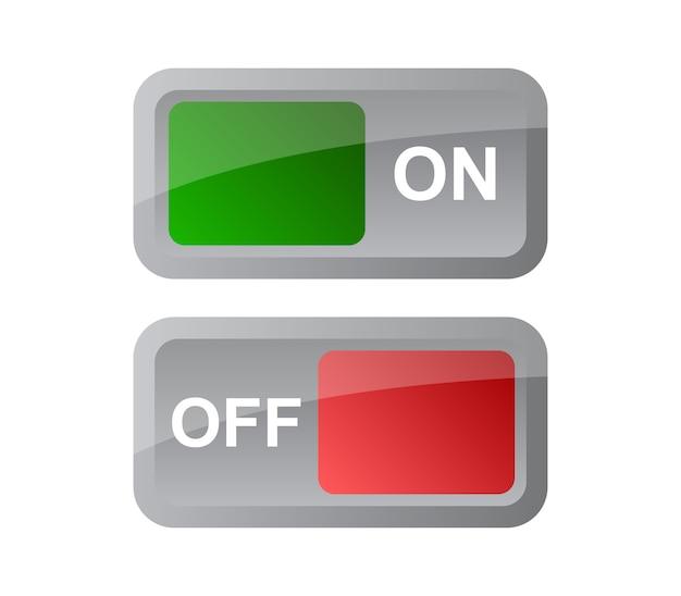 Botão desligado