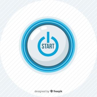 Botão iniciar azul