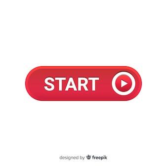Botão iniciar com o símbolo de jogo