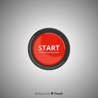 Botão iniciar vermelho