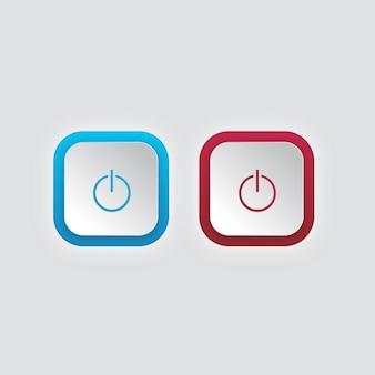 Botão liga / desliga do modo de luz