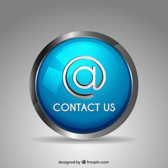 Botão redondo em contato conosco