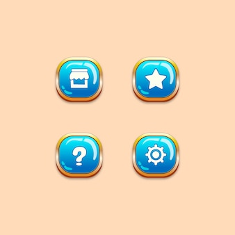 Botões da interface do usuário