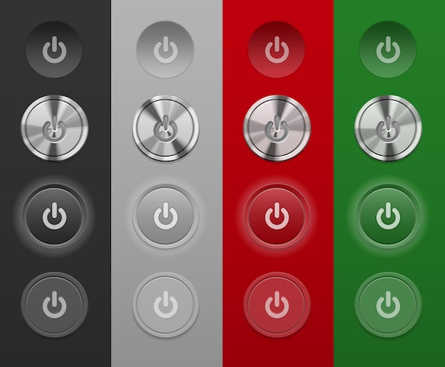 Botões mac diferentes não dependem do fundo