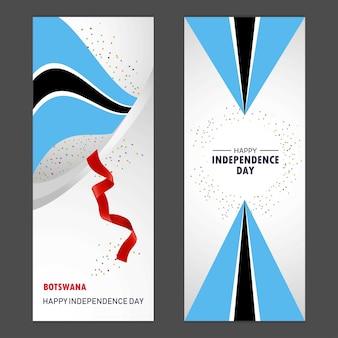 Botswana feliz dia da independência