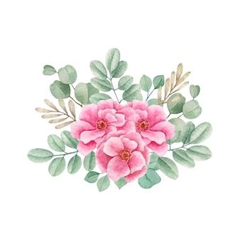 Bouquet de flores romântico