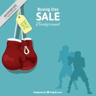 Boxing dia fundo da venda
