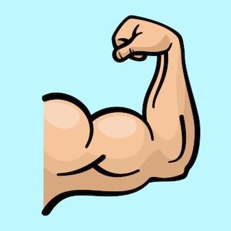 Braços musculares