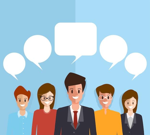 Brainstorming pessoas equipe trabalho em equipe corporativa.