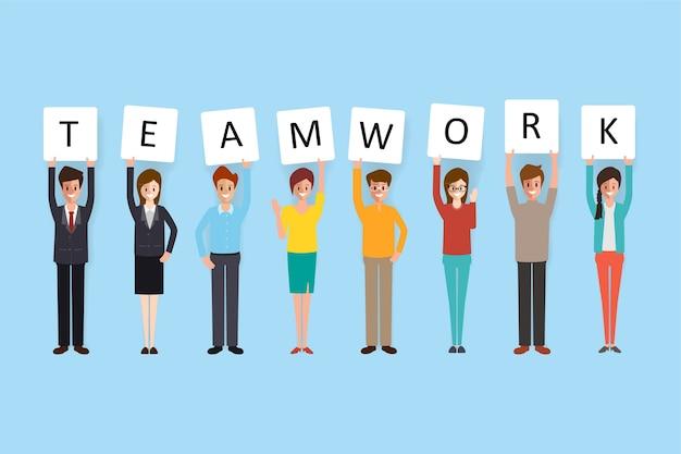 Brainstorming pessoas equipe trabalho em equipe.