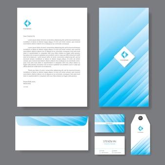 Branding identidade modelo corporativo empresa design
